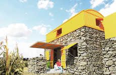 Casa Uno by Hans Mayr Helps Homeless Mexican Families Find Shelter