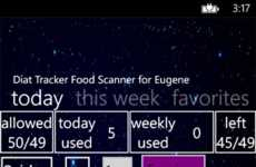 Food-Scanning Diet Apps - This Healthy Diet App Reveals Nutritional Info from Barcode Scans