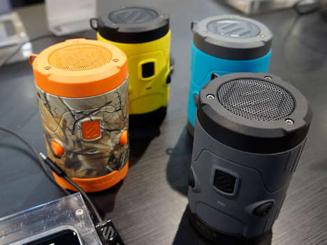 All-Terrain Audio Devices - Scosche Shows Off Its New boomBOTTLE H20 at CES 2014