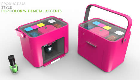 Innovative Nail Varnish Printers - This Nail Polish Machine Mixes From Your Stylish Inspirations