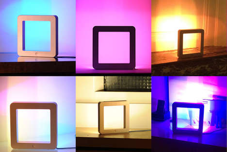 Tablet-Like Mood Lighting - The Holi Lamp is Powered by a Smartphone