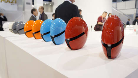 DJ Duo Helmet Speakers - The Edifier USA e25 Luna Eclipse Were Revealed at CES 2014