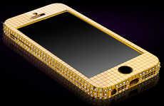$110,000 Swank Gold Smartphones