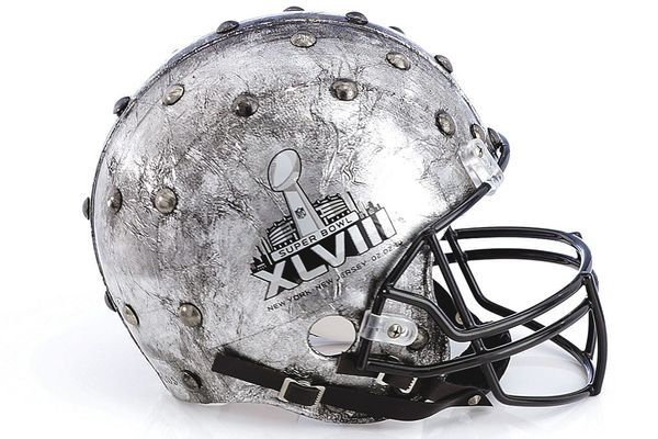 haute couture football helmets