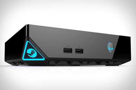 Optimized Gaming Consoles - The Alienware Steam Machine Announced Ahead of CES 2014