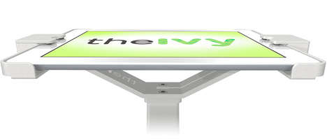 Anti-Theft Tablet Display Stands - The IVY Open Tablet Display Recently Launched at CES 2014