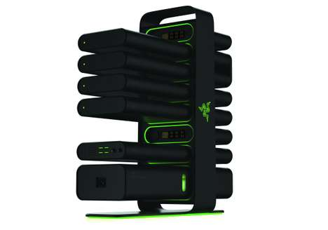 Intuitive Gaming Computer Systems - Razer Unveiled the New Project Christine at CES 2014