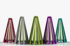 Skirted Seasoning Dispensers - Anoop M.'s Salt and Pepper Shakers are Dynamic and Distinctive