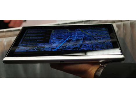 Built-In Auto Tablets - The Audi Android In-Car Tablet Was Revealed at 2014 CES