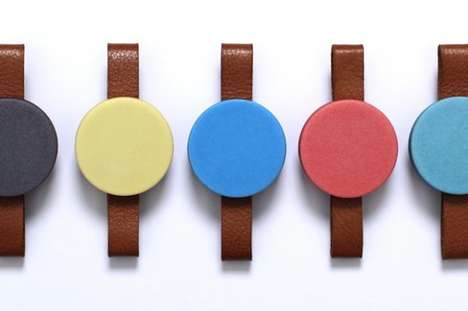 Vibrant Faceless Timepieces - These Faceless Watches are Colorful and Fashionable