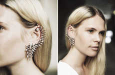 Chandelier-Like Ear Cuffs