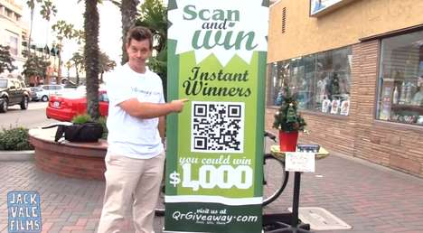 QR Code Contest Pranks - This QR Code Giveaway Prank Plays Up the Frustrations of Technology