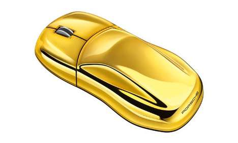 75 Glamorous Gold Gadgets - From Gold-Plated Game Consoles to Gold Horn Amps