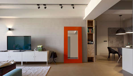 Jazzy Taiwanese Suites - An Apartment in Taiwan Makes Use of Incredible Colors