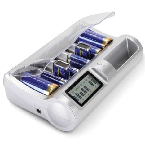 disposable battery charger