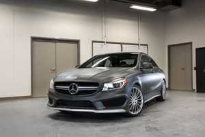 The Mercedes-Benz CLA45 AMG's New Dash Launched at CES 2014