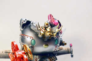 The Artist Aaron Liu Tranforms These Toys into Distructive Robots