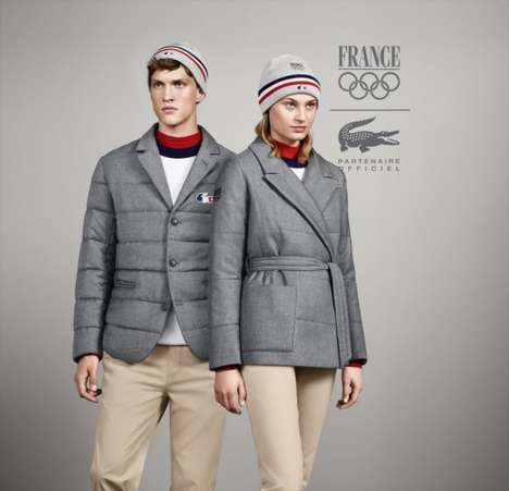 Chic Designer Olympian Gear - The French Olympic Team Will Wear Lacoste at Sochi 2014