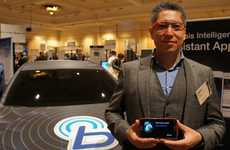 Cellphone Signal-Controlled Cars - Hyundai's Genesis Blue Link System Makes an Apperance at CES 2014