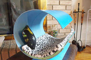 This Modern Cat Bed is Budget-Friendly and Simple to Make