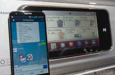 Reciprocal Major Appliance Apps - Text Your Fridge with LG Homechat Unveiled at CES 2014