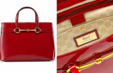 Bold Eastern Celebratory Handbags - The 'Chinese Exclusive' Collection by Gucci Honors the New Year