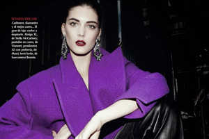 Katryn Kruger Shines in the Vogue Mexico January 2014 Issue