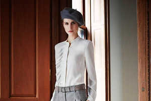 The Akris Pre-Fall 2014 Collection Has the Bonnie and Clyde Look
