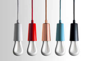 These New PLUMEN Light Bulbs are Sleek and Industrial
