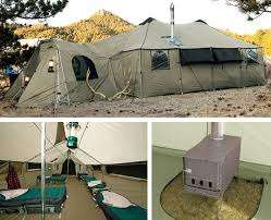 Luxurious Multi-Person Tents - Go Camping in Style with This Deluxe Luxury and Comfortable Tent