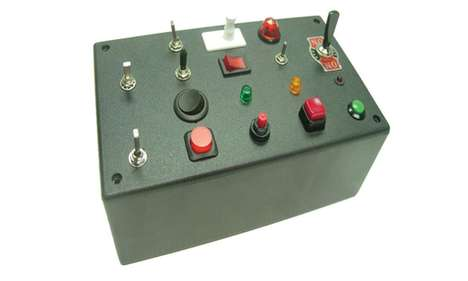 Control Panel Kits - The Fun Light Switch Box Gives You the Feeling of Charge Over Knobs and Buttons