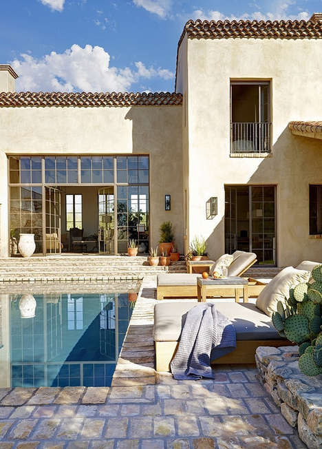 Rustic Farmhouse Havens - This Sonoran Desert Home Combines Past and Present Detailings