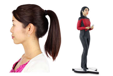 3D Image Impersonators - Cubify Lets You Make an Action Figure out of Yourself at CES 2014