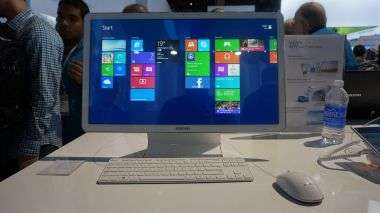 iMac-Inspired Desktops - The Samsung ATIV Book One 7 Tricks Fans at CES 2014