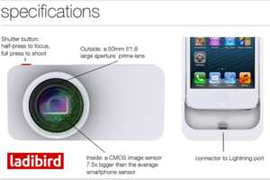 The Ladibird iPhone Camera Case Was Revealed at 2014 CES