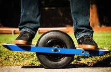 Self-Blancing Skateboards - The Onewheel Glides its Way to CES 2014