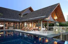 Leisurely Tranquil Thai Estates - The Samsara 5 House Encapsulates Thai Luxury