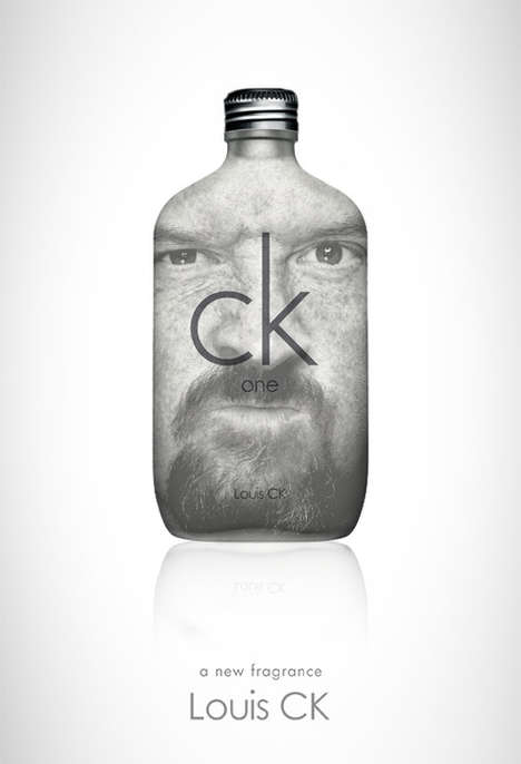 Comedian-Fragrance Mashup Blogs - The Louis C.K. One Blog Mixes the Comedian with CK One Branding