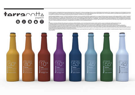 Zago TerraCotta Beer packaging
