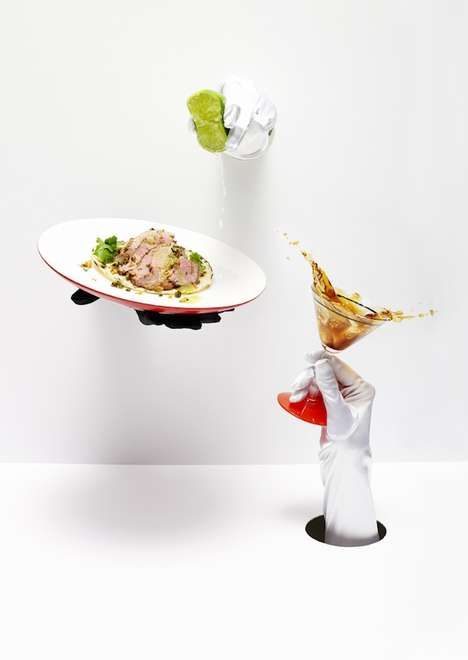 Food Photography Performance Art - The Rare Medium Issue 4 Photoshoot was Styled by Sonia Rentsch