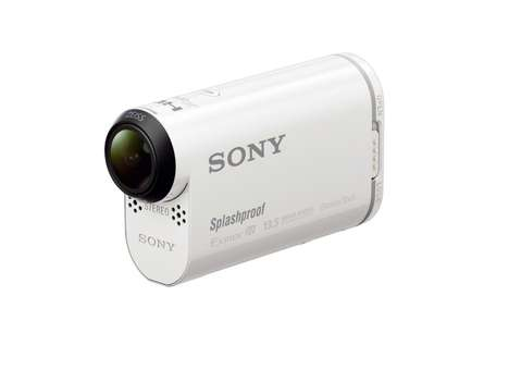 Powerful Pocket-Sized Cameras - The Sony AS100V Showcased at CES 2014 is Packed With a Punch