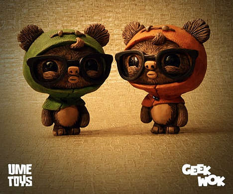 Geeky Fuzzy Alien Toys - The GeekWok Ewok Toy is Adorably Nerdy