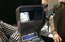 Video-Projecting Virtual Consoles - The iTOi Booth Projects Video Conversations at CES 2014