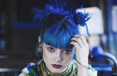14 Brilliant Blue-Haired Looks