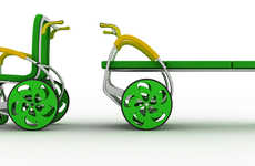 Vivid Mobility Equipment - Simpati'K Set Takes a Fresh and Colorful Design to Uplift Young Pat