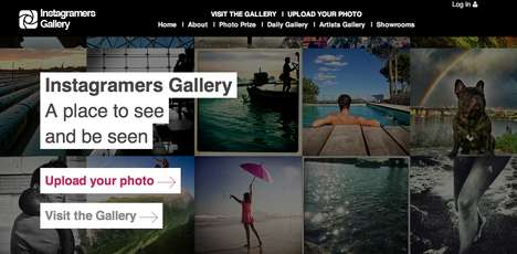 Online Social Photography Collections - Instagrammers Gallery Shows a Variety of Instagram Content