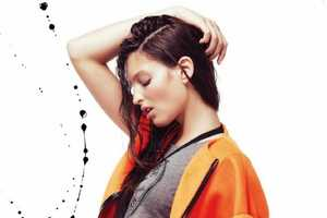 Georgina Stojiljkovic Stars in Be Magazine February 2014