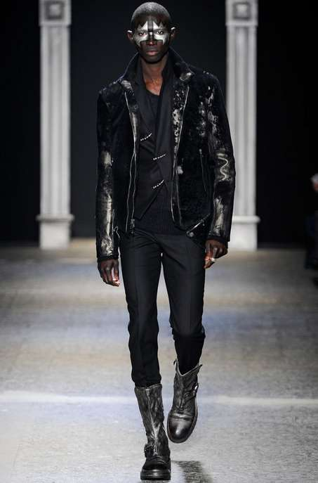 KISS-Inspired Menswear - The John Varvatos Fall/Winter 2014 Collection is an Ode to Classic Rock