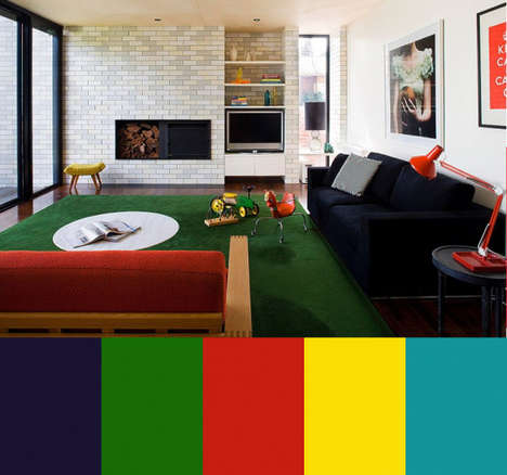 Furniture-Coordinating Color Palettes - The Proper Color Palette Can Make Your Interior Pop
