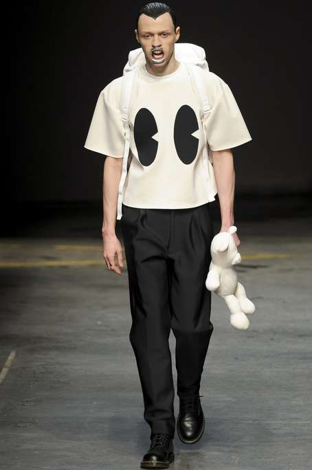 Creepy Cartoonish Menswear - The Bobby Abley Fall/Winter 2014 Collection is Creepily Chic